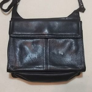 Fossil Bags - Fossil Black Leather Crossbody Purse